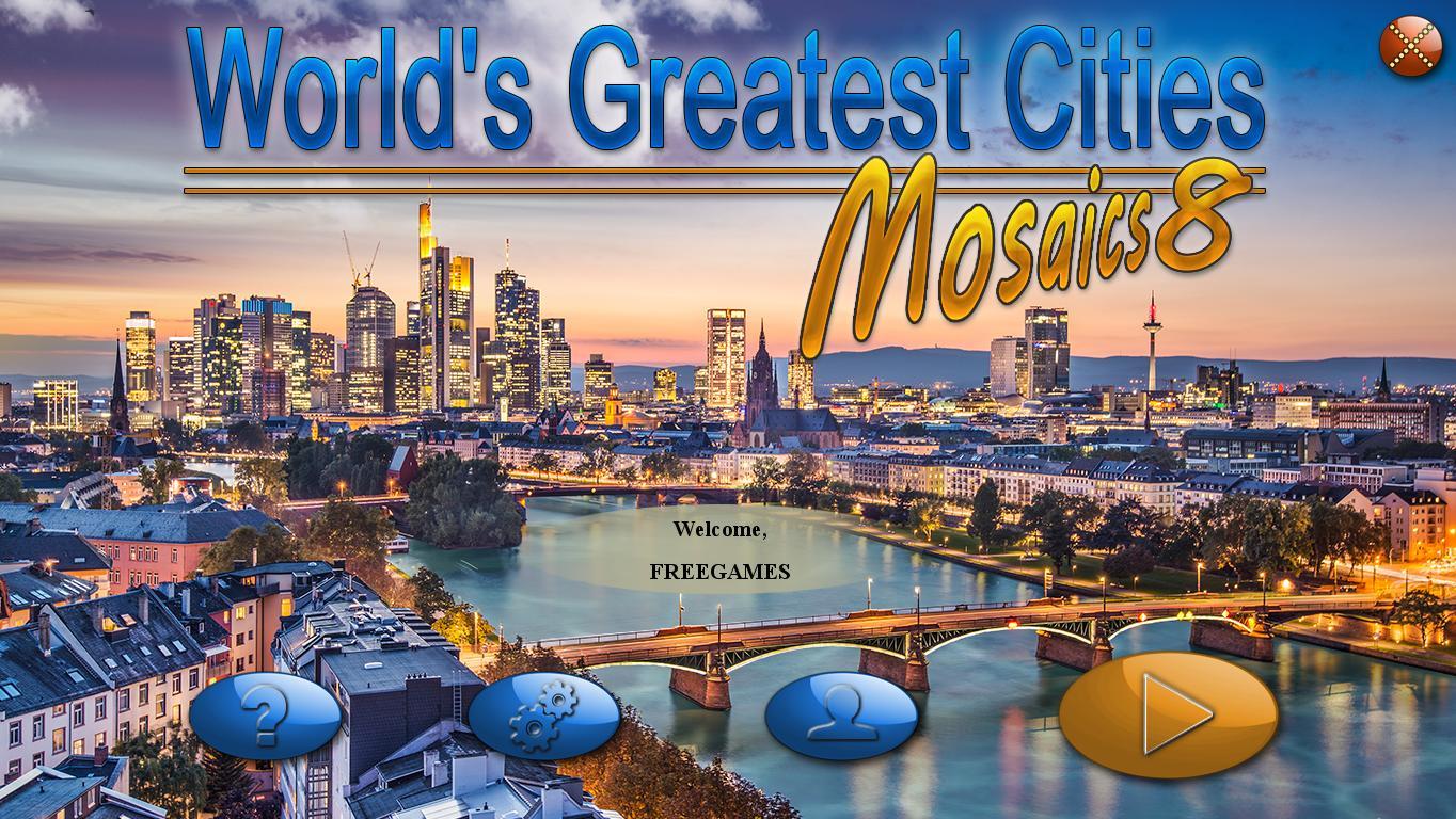 Величайшие города мира. Мозаика 8 | Worlds Greatest Cities Mosaics 8 (En)