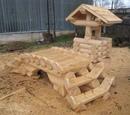 Добротная идея для детской площадки на участок
