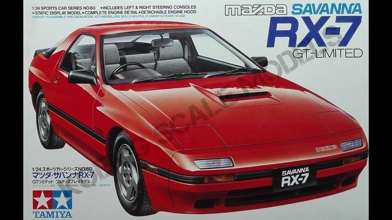 Mazda RX 7 Savanna GT Limited Tamiya 1 24