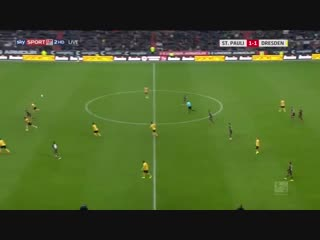 Санкт-Паули - Динамо Дрезден 1:1 (0:0) 01.12.2018
