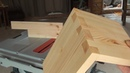 Woodworking Dovetails On A Table Saw 목공 테이블 톱으로 주먹장 만들기