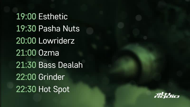 Esthetic, Pasha Nuts, Lowriderz, Ozma, Bass Dealah, Grinder, Hot Spot - Live @ TimeofNight (14.11.2018)