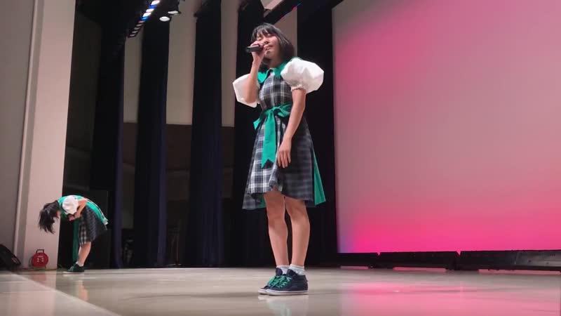MELLOW GREEN WONDER. Yamanashi Aidoru Festival. Yamanashi Shimin Kaikan Daihouru 25/08/2018