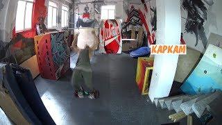 В России впервые в мире выполнили невероятные трюки на гироскутерах.