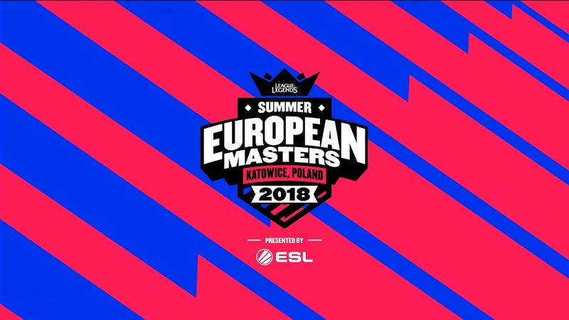 MAD vs. ESG Игра 2 | EU Masters semifinals Summer 2018 | Mad Lions vs. Euronics Gamers (2018)