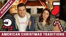 BRITISH vs AMERICAN Christmas Traditions!   VLOGMAS DAY 3