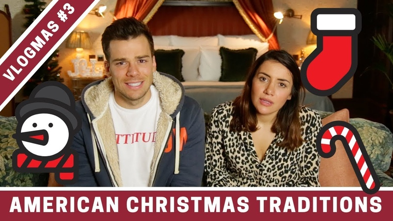 BRITISH vs AMERICAN Christmas Traditions! | VLOGMAS DAY 3