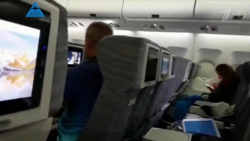 Взону сильной турбулентности попал самолет аргентинской авиакомпании, выполнявший рейс изМайами вБуэнос-Айрес