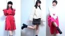 Милые японские наряды Сакино
