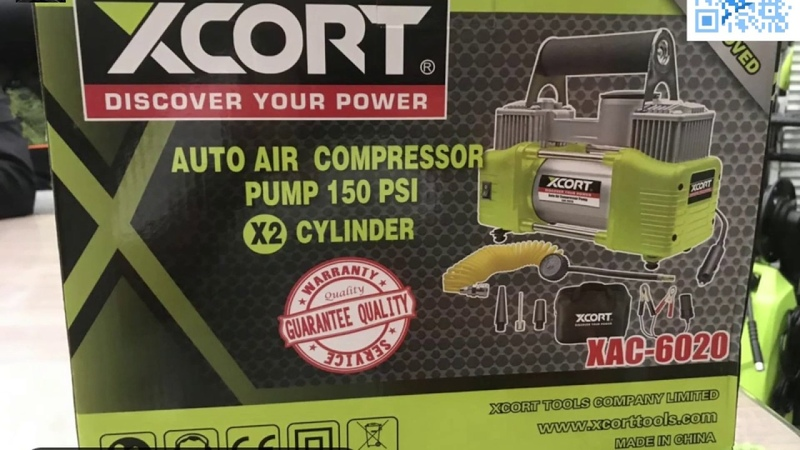 XCORT power tools direct driven air compressor China tools not bosch makita 150PSI 10 5Bar