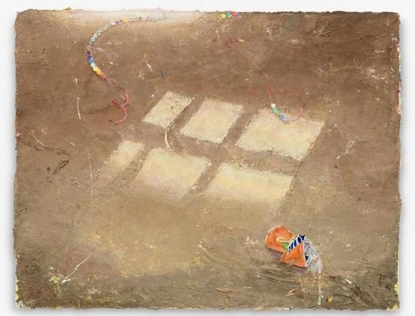 Matthias Weischer/ Маттиас Вайшер (1973, Германия). Reflex 1, 2018 Oil on canvas 51 × 65 cm