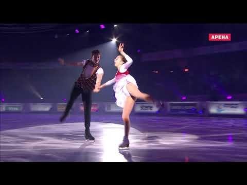 Александра Бойкова Дмитрий Козловский Показательные 2018 ГранПри Франция