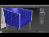 Modeling a Quilted Leather Chair in 3ds Max Part 2
