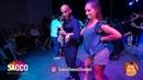 Osbanis Deakocan Tejeda and Aija Gierkena Salsa Dancing at Riga Salsa Festival 2018 Saturday 11 08 2018