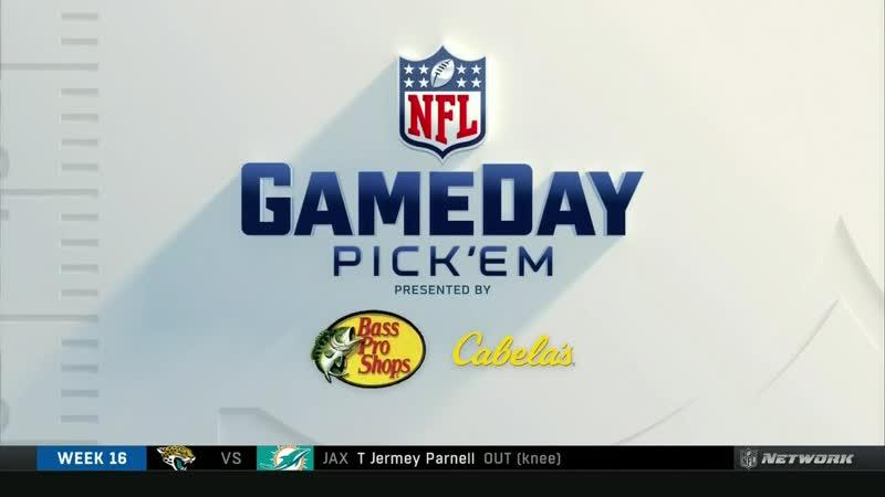 NFL Gameday Pickem (NFL Network, 21.12.18)
