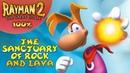 Rayman 2: The Great Escape - Все лумы и клетки - Святилище скал и лавы