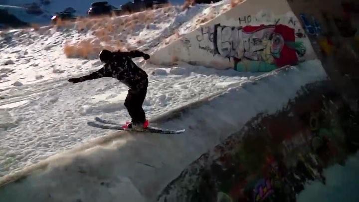 "Tall T Productions on Instagram ""@chasemohrman concrete shufflin' 😤 • 🎥 @oliverhoblitzelle • linkinbio for the full movie • skiing talltfam t..."