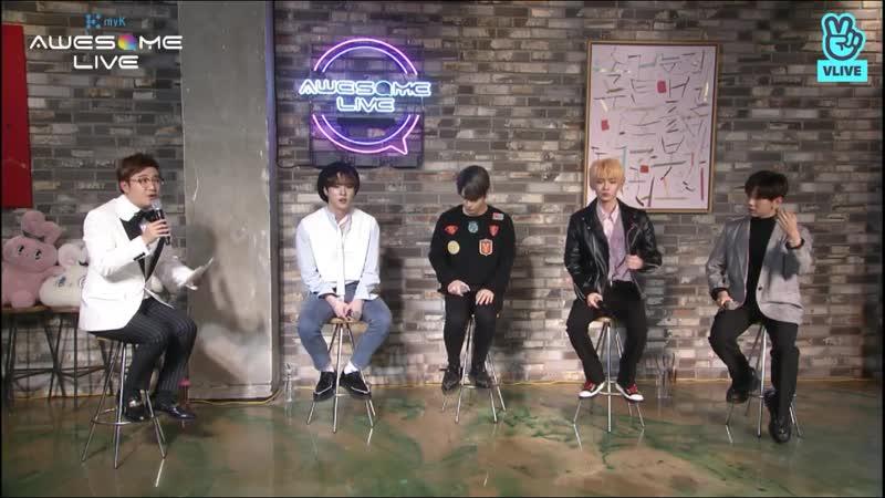 MyK Awesome Live | JBJ95, Ким Донхан, Но Тэхён | 09.03.19