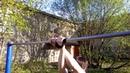 Склепка с Скрещенным передним и задним хватом alemania en X Street Workout