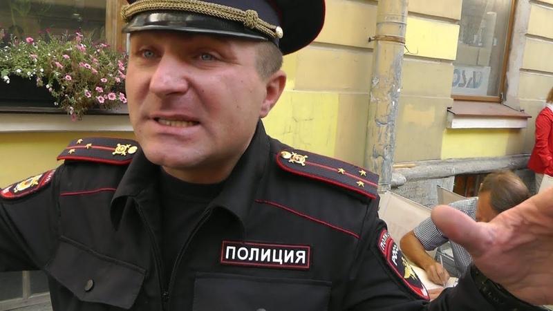 Золотые конусы МТС на балансе у полиции. Часть 2. Крыша приехала. Санкт-Петербург.