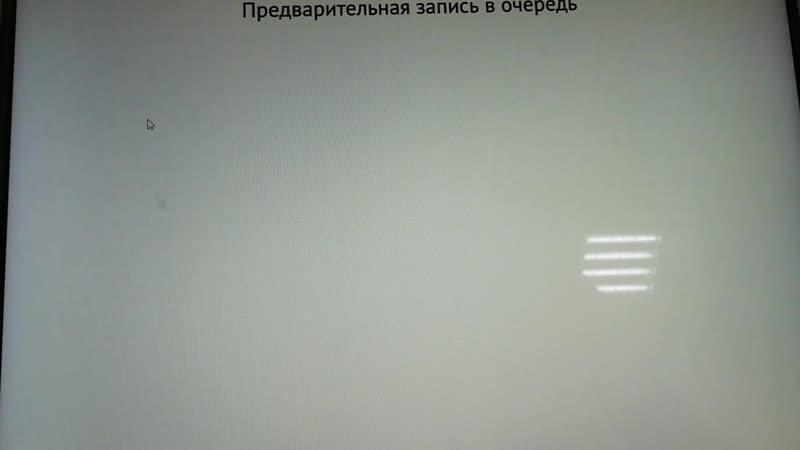 Предварительная запись в МФЦ)