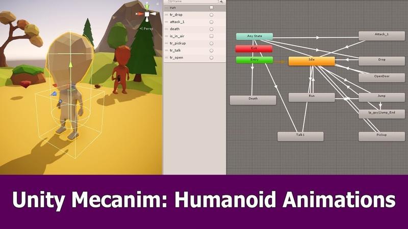 Unity Humanoid Mecanim Animations Tutorial