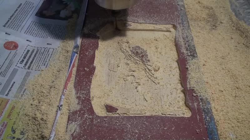 Изготовление резного изделия Сова на пергаменте