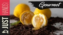 Lemon shaped dessert | Akis Kitchen