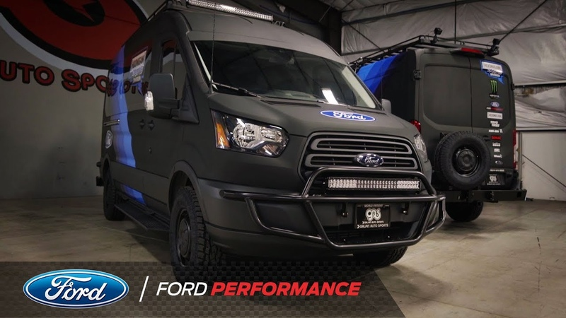 Ken Blocks Rally Transit for Cossie World Tour   Ford Performance