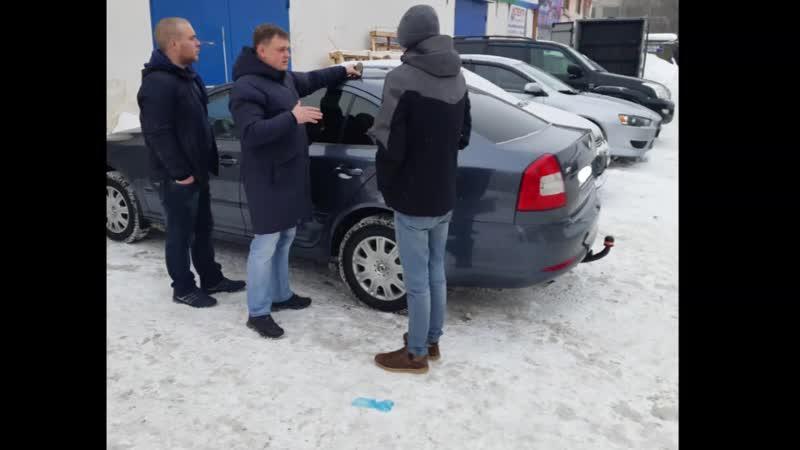 Презентация и передача автомобиля Заказчику (Февраль 2019г.)