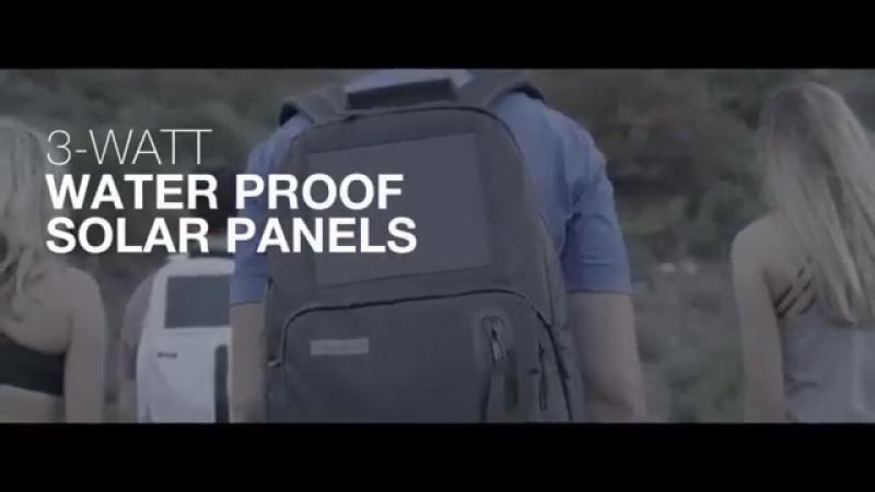 Amazing Solar Backpack by Birksun