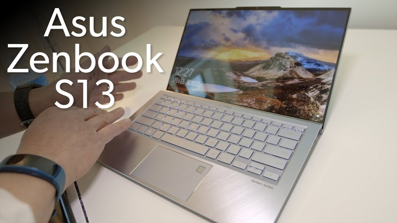 Asus Zenbook S13: The first 'anti-notch' in a laptop