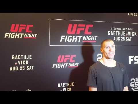 James Vick - Día de medios en UFC Lincoln