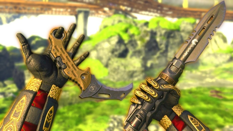 NEW IMPROVED Ballistic Knife (Dual Wield OP MOD)