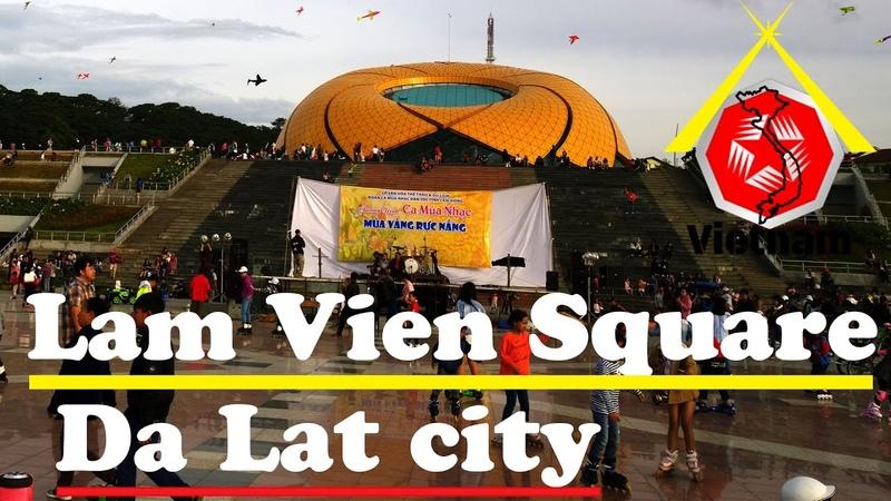 Vietnam Travel | Xuan Huong Lake Lam Vien Square in Da Lat city
