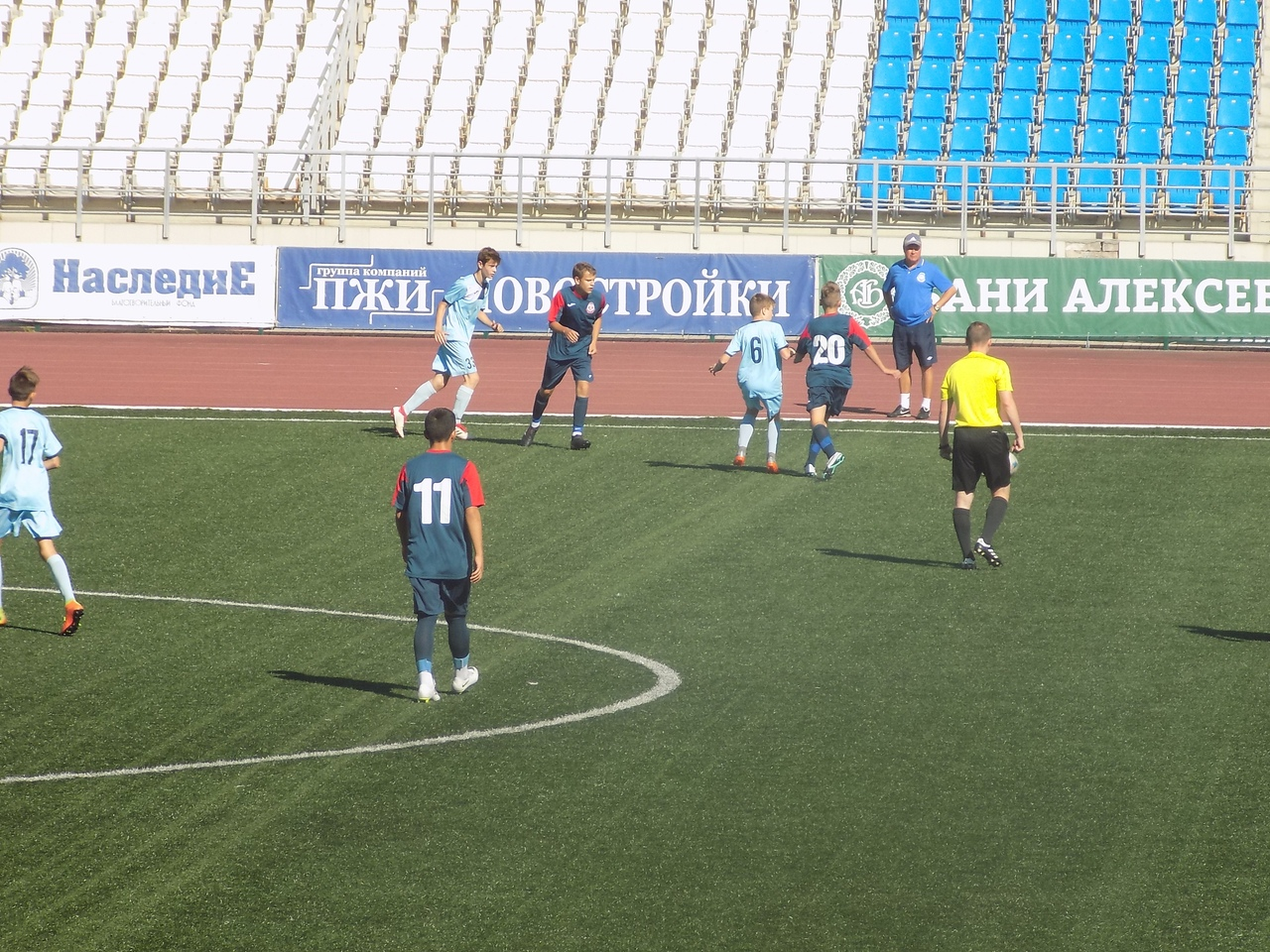 Команда СШ «Витязь» 2004 г.р. вышла в 1/4 финала Кубка РФС