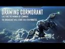 BATTLE OF TITANS 2.0 - Drawing Cormorant [live]
