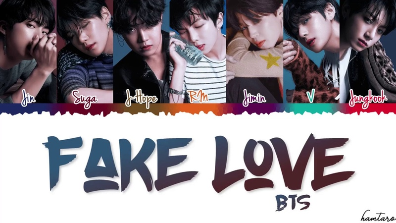 BTS (방탄소년단) - 'FAKE LOVE' Lyrics [Color Coded_Han_Rom_Eng]