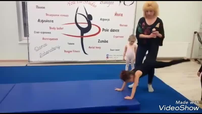 Развиваемся Гимнастика дети