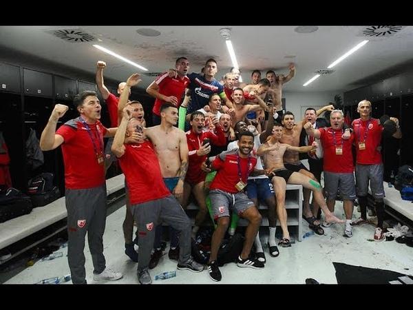 Salzburg Crvena zvezda 2 2 1 0 Trenutak za istoriju hvala ti Zvezdo 🙏🔴⚪