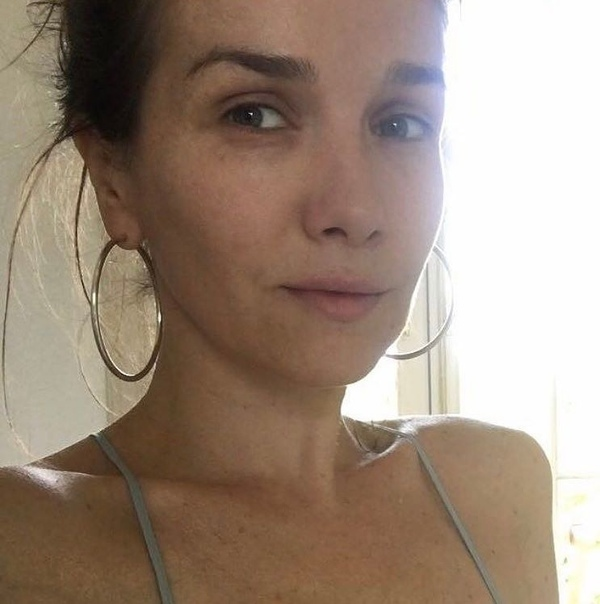 Наталья Орейро без макияжа.