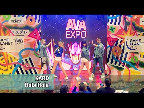KARD 카드 Hola Hola dance cover by Take it easy AVA Expo 101217