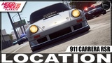 Need for Speed Payback Carro Abandonado Gallo Rivera's 911 Carrera RSR 2.8 Nova Localiza