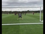 Watch as the Arsenal squad take aim in training vk.comnewsarsenal