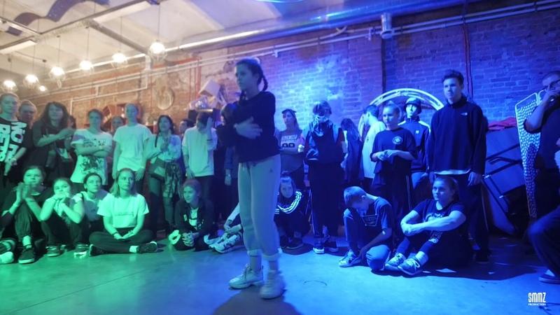 Ибрагимова Лейла vs Чихладзе Вика 1 8 FINAL Hip Hop BEG PARTIYA BATTLE