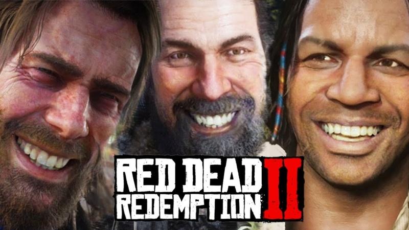 ARTHUR MORGAN'S FUNNIEST JOKES PART 2! Red Dead Redemption 2