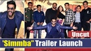 Simmba Movie Trailer Launch Uncut Ranveer Singh Sonu Sood Rohit Shetty