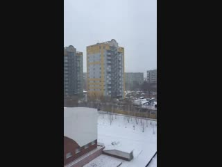Дети играют на 11 этаже Омск