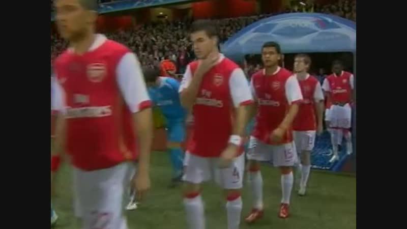 192 CL-20062007 Arsenal FC - PSV Eindhoven 11 (07.03.2007) HL