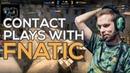 Fnatic's Ballsy Contact Plays on Terrorist Mirage
